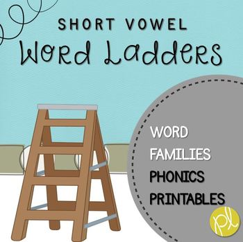 Word Ladders Short Vowels