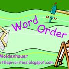Word Order Mini-Lesson Flipchart Freebie