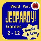 Word Part Jeopardy Big Bundle (Versions 2 - 7)