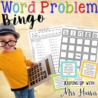 Word Problem Bingo Fun