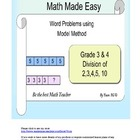 Word Problem Made Easy - Model Method (Singapore) Grade 3 