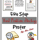 Word Problem Strategies (Poster/Handout)