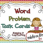 Word Problem Task Cards {Subtraction 1-20}