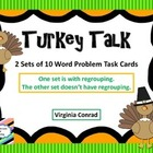 Word Problems FREEBIE for Thanksgiving