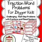 Word Problems (Multi-Step: Adding and Subtracting Fraction