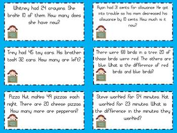 Word Problems for the Primary Classroom