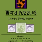 Word Puzzles:  Literary Terms - Fiction