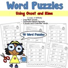 Word Puzzles Using Onset and Rime - CCSS