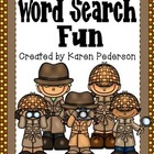 Word Search Fun *Spelling or Vocabulary Practice*