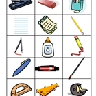 Word Sort - School Supplies