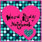 Word Study Notebook Set