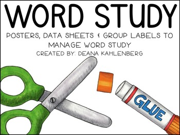 Word Study: Routines, Anchor Charts and Management