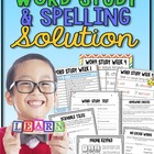 Word Study and Spelling Solution