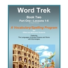 Word Trek Book Two:  Part One:  Lessons 1-6