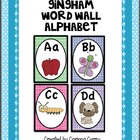 Word Wall Alphabet Letter Cards