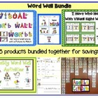 Word Wall Bundle Pack
