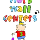Word Wall Centers #2