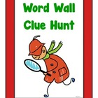 Word Wall Clue Hunt