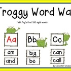 Word Wall: Froggy Theme