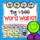 Word Wall Kit - Fry Words 1-300 {Editable}
