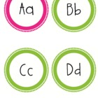 Word Wall Letters 2