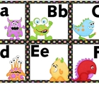 Word Wall Letters Monsters