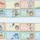 Word Wall Letters- Owl Themed