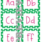 Word Wall Letters (Polka Dot)