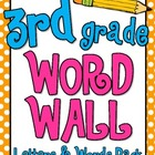 Word Wall Pack - 3rd Grade