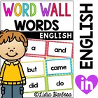 Word Wall Pack in Bright Polka Dots {Pre-K/Kinder Sight Words}