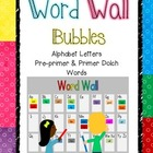 Word Wall - Ready, Set, Go! (Bright Bubbles) - Programmable
