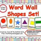 Word Wall Shape Set