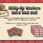Word Wall - Western Round Up
