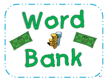 "Word Wall - ""Word Bank"" Vocabulary Strategy"
