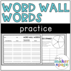 Word Wall Writing Practice