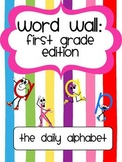 Word Wall for First Grade