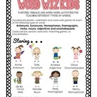 Word Wiz Kids (Parts of Speech, Synonyms, Antonyms, Homonyms)