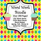 Word Work Bundle for Literacy Centers