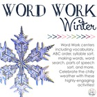 Word Work Centers: Winter Wonderland