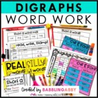 Word Work Digraph Pack