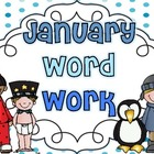 Word Work {January}