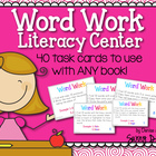 Word Work Literacy Center
