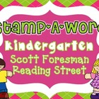 "Word Work ""Stamp-A-Word"" Scott Foresman Reading Street Kin"
