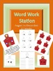 Word Work Station / Center August to December