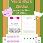 Word Work Station / Center January to May