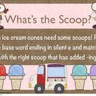 Word Work: What&#039;s the Scoop? Drop the Silent e and Add -ing