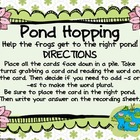 Word Work - Zaner Bloser - Pond Hopping Inflectional Endin