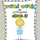 Word Work for Little Learners {short i}
