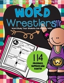 Word Wrestlers {A Prefix, Suffix, and Root Words Resource}