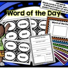 Word of the Day Class Activity List #1